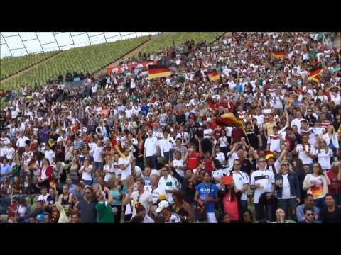Public Viewing Munich   Olympiastadion am 16 06 2014  Teil  I
