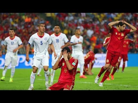 Spain Eliminated from World Cup! Chile Wins 2-0! Is Tika Taka Over?