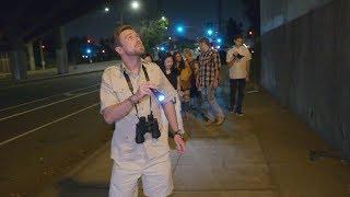 Ellen's Writer Tricks Tourists on a Los Angeles Wildlife Safari Tour