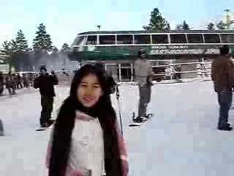 man and lun at big bear - YouTube