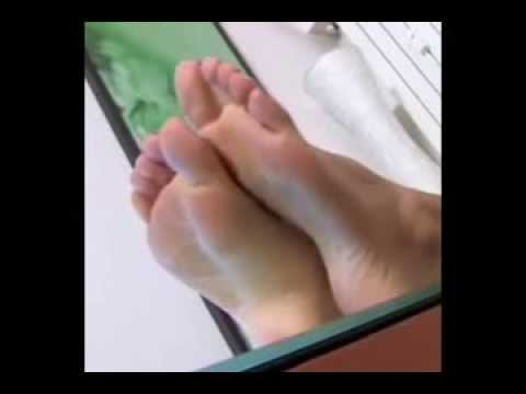 brunette with pretty feet perfect soles youtube. Black Bedroom Furniture Sets. Home Design Ideas