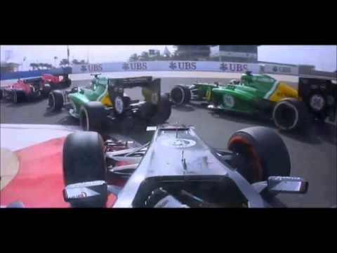 F1 2013 Season Highlights Part 1