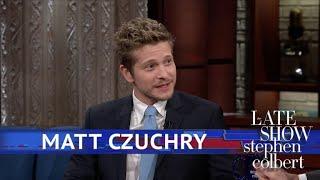 Matt Czuchry's Name Stumped Stephen