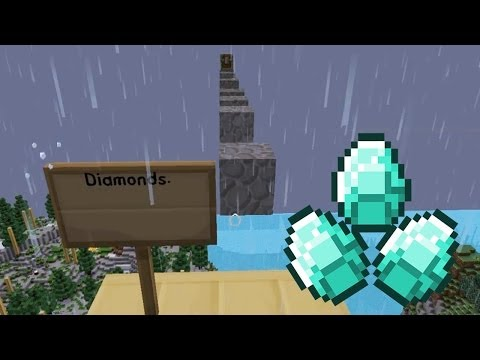 Minecraft - Race To The Moon - Diamond Rich! [22]