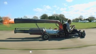 The Jet Go-Kart!! The Craziest Go-Kart Ever
