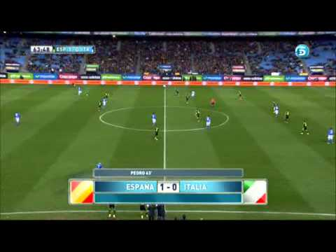 Spain 1 0 Italia - Friendly 05/03/14