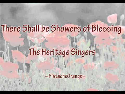 There shall be showers of blessing lyrics
