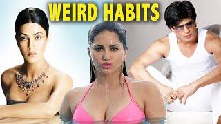 bollywood celebrities strange weird habits , bollywood celebs, bollywood news, bollywood celebs strange habits