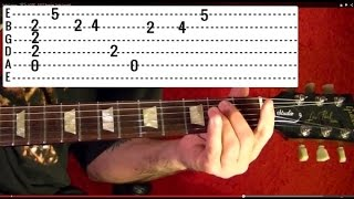 BEATLES IN MY LIFE Easy Guitar Lesson By BobbyCrispy