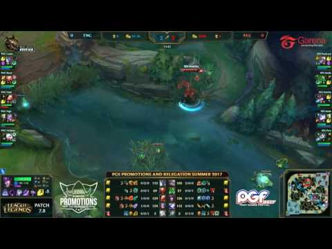 PGS Promotions and Relegations Summer 2017 - TNC vs XES Game 1/2