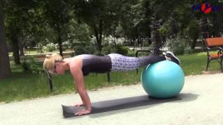 Ćwiczenia z piłką fitball
