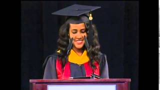 Ethiopian Student, Eden Abiye's speech at the 2014 Masters Commencement, University of Maryland