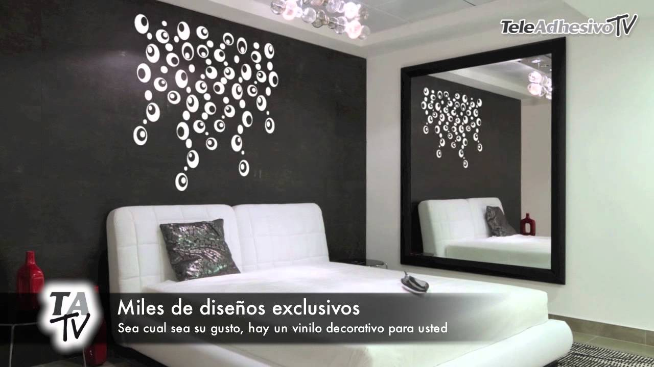 Descripci N Vinilos Decorativos Teleadhesivo Youtube