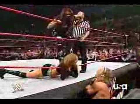 John Cena And Maria .V.S. Edge And Lita