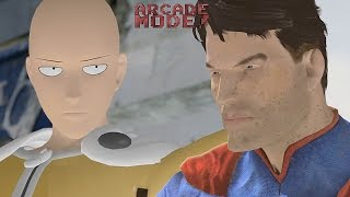 SAITAMA (ONE PUNCH MAN) vs. SUPERMAN | ARCADE MODE! [EPISODE 3]