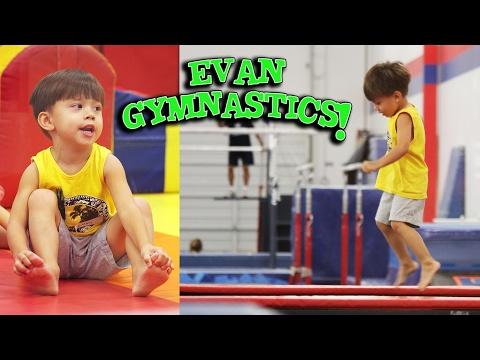EVAN GYMNASTICS!!! Throw Back Thursday TIME WARP!