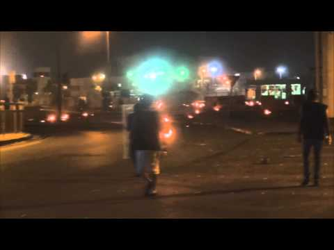 bahrain : sitra steets firing because of jailing womens 29/4/2014