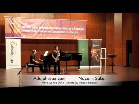 Nozomi Sakai Nova Gorica 2013 Sonata by Edison Denisov