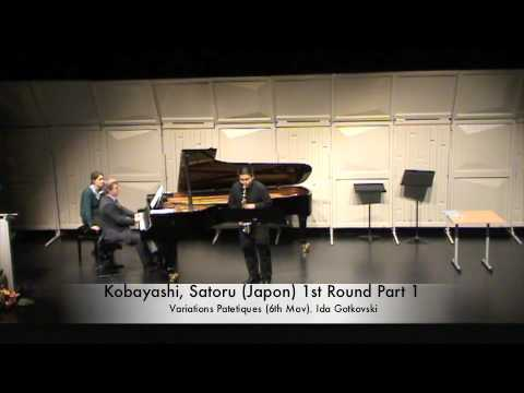 Kobayashi, Satoru Japon 1st Round Part 1
