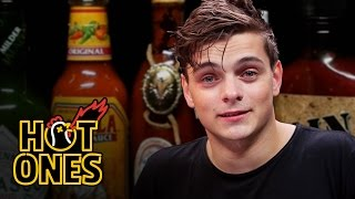Martin Garrix Tests His Limits Eating Spicy Wings | Hot Ones