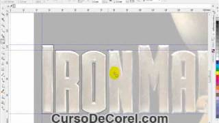 Como Hacer Logo De IronMan En Corel Draw X5