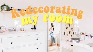 REDECORATING MY ROOM 2017