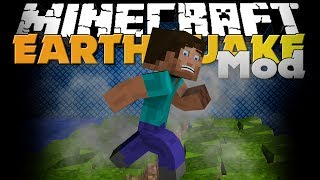 Minecraft Mod Earthquake Mod Natural Disasters