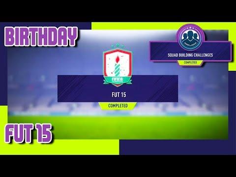 FIFA 18 - FUT Birthday SBC #7 - FUT 15 & Pack Opening