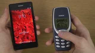 Sony Xperia Z1 Compact Vs. Nokia 3310 Which Is Faster