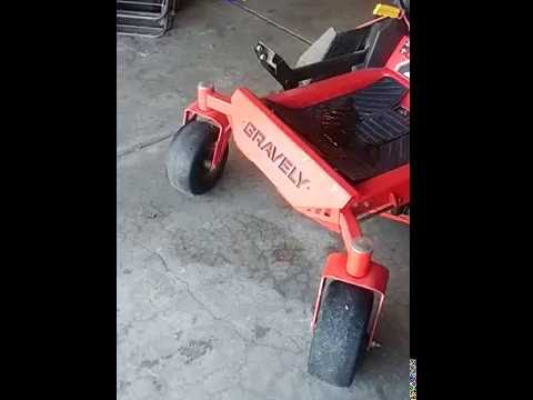 Gravely Mower 250 hour review