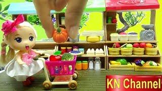Đồ chơi trẻ em SIÊU THỊ BÚP BÊ MINI CỦA Bé Na | MINI SUPERMARKET FOR DOLL