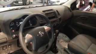 Interior Toyota Hilux 2014 Precio Caracteristicas Versión