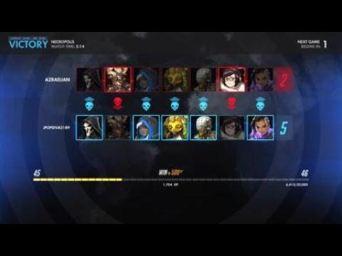 Overwatch: 1v1 mystery duel Nova vs azraelian
