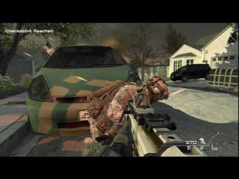 09. Call of Duty: Modern Warfare 2 - HD Veteran Difficulty Walkthrough - Wolverines! part 1/3