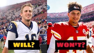 5 NFL Quarterbacks that WILL Win a Super Bowl Before they Retire and 5 that WON'T