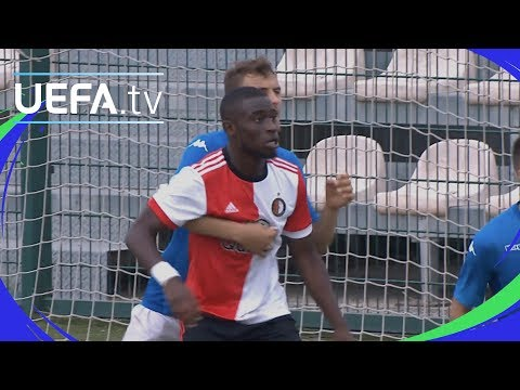 UEFA Youth League highlights: Napoli 2-2 Feyenoord