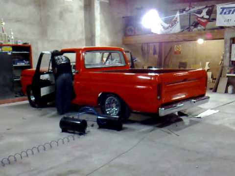 suspension neumatica en ford f100