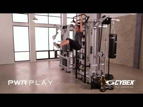 Cybex PWR PLAY - Stall Bar Leg Lift