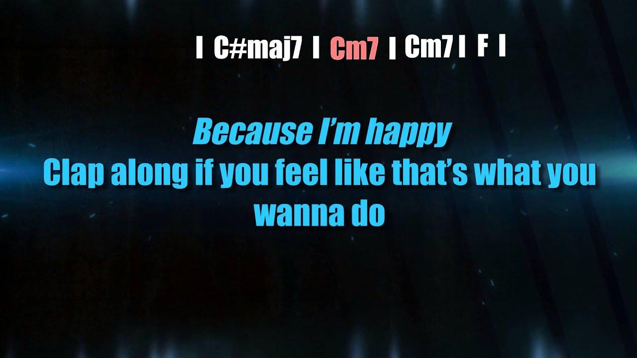 pharrell williams happy karaoke comtep