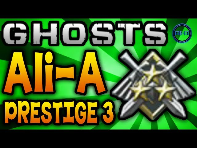 GHOSTS Prestige 3 (Ali-A) - Classes, K/D Stats & Top Tips! - (Call of Duty: Ghost Multiplayer)