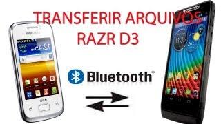 Transferir Arquivos Via Bluetooth No Motorola Razr D3 E O