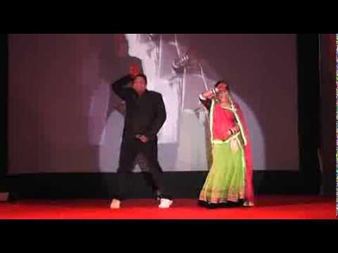 vijay jaiswal & jyoti dance in gaurav jaiswal mahila sangeet