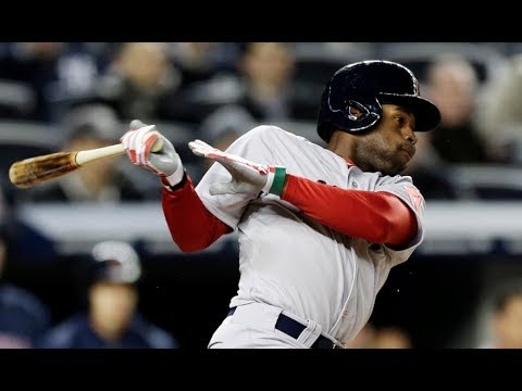 Boston Red Sox Jackie Bradley, Jr. on Derek Jeter & Jacoby Ellsbury playing on the New York Yankees