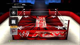WWE ´12 How To Make Awesome Modified Raw And Smackdown