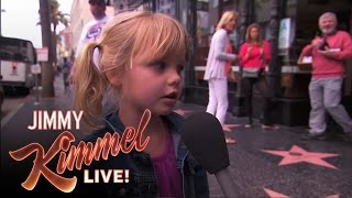 "Kimmel Asks Kids ""Do You Know Any Naughty Words?"""