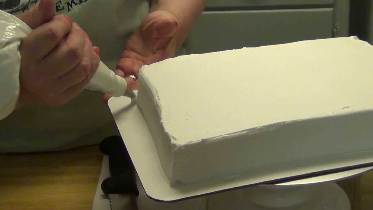 Cake Borders With Icing Easy