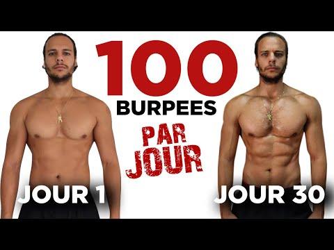 100 BURPEES PAR JOUR / 30 JOURS CHALLENGE