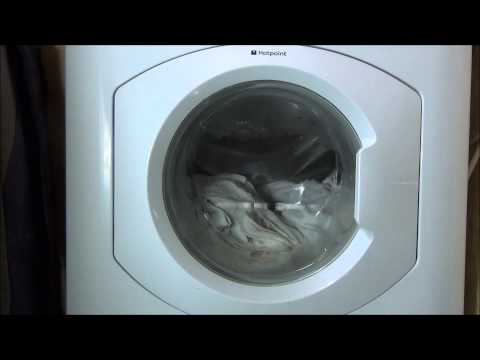 hotpoint HF8B593 Washing Machine : Cotton 90 Start and Sense Of Load Tumbles (2/10)
