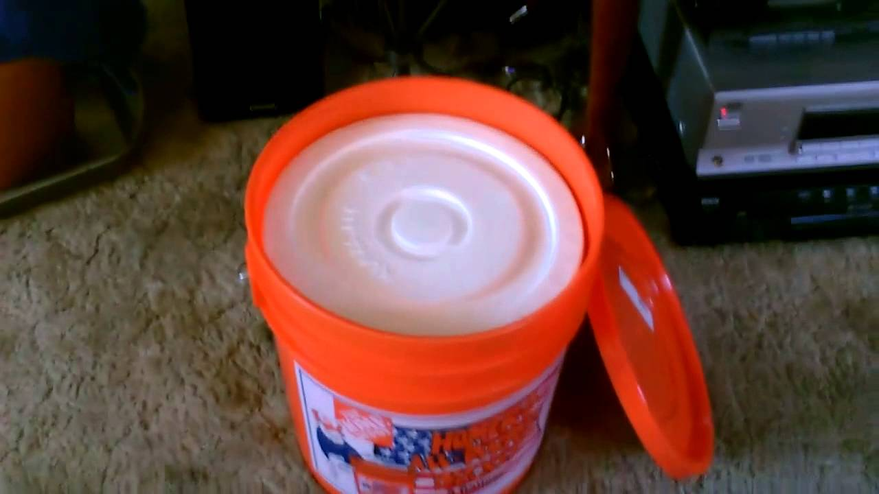 How To Make A Simple Quot Hard Sided Quot Ice Chest Quot 5 Gallon