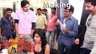Attarintiki Daredi Movie Making Scenes| Samantha